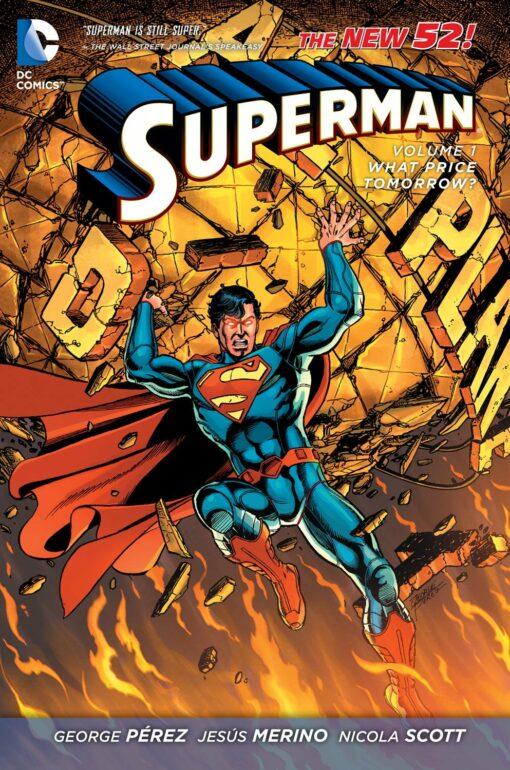 Superman Vol. 1: What Price Tomorrow? [HC] Conditie: Tweedehands, als nieuw DC 1
