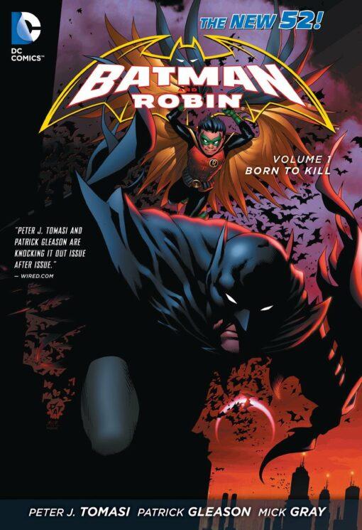 Batman and Robin Vol. 1: Born To Kill [HC] Conditie: Tweedehands, als nieuw DC 1