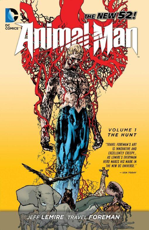 Animal Man Vol. 1: The Hunt Conditie: Tweedehands, als nieuw DC 1