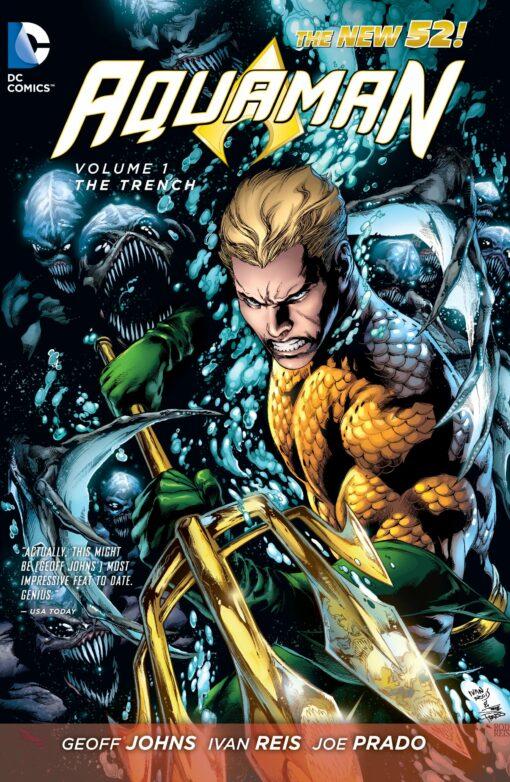 Aquaman Vol. 1: The Trench [HC] Conditie: Tweedehands, als nieuw DC 1