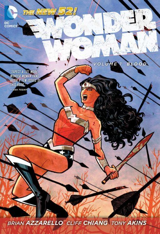 Wonder Woman Vol. 1: Blood [HC] Conditie: Tweedehands, als nieuw DC 1