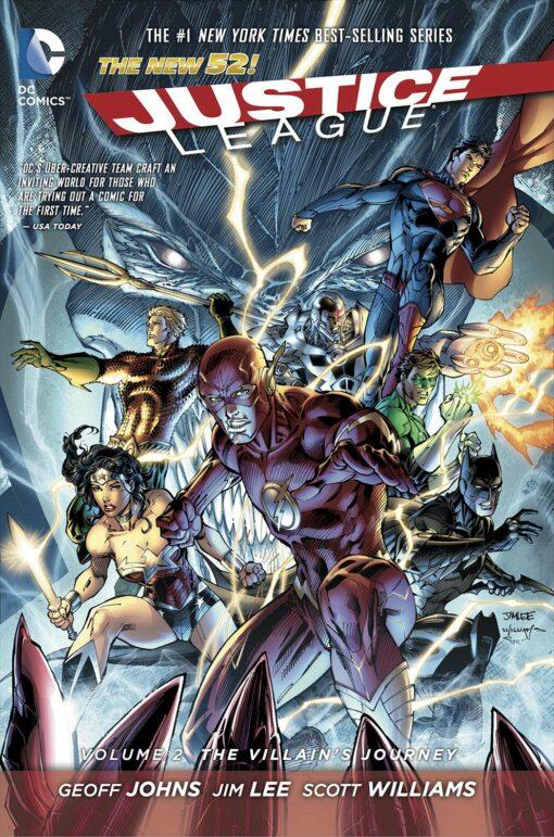 Justice League Vol. 2: The Villain's Journey [HC] Conditie: Tweedehands, als nieuw DC 1
