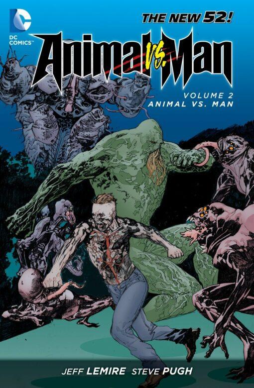 Animal Man Vol. 2: Animal Vs. Man Conditie: Tweedehands, als nieuw DC 1