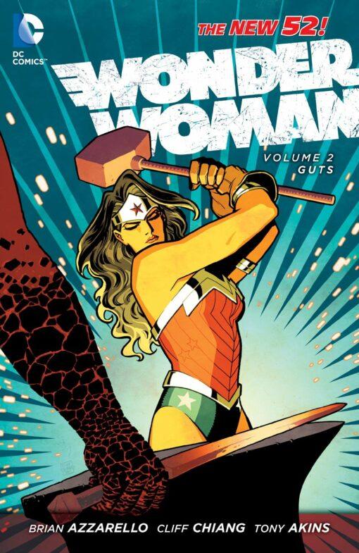 Wonder Woman Vol. 2: Guts [HC] Conditie: Tweedehands, als nieuw DC 1