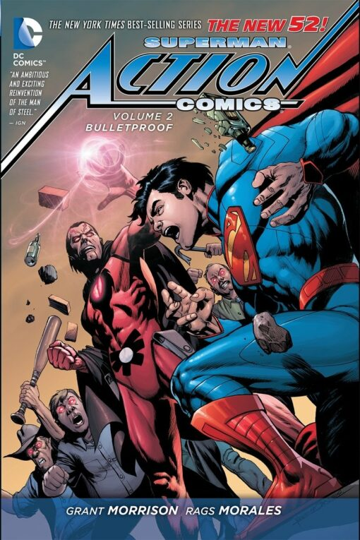 Superman: Action Comics Vol. 2: Bulletproof [HC] Conditie: Tweedehands, als nieuw DC 1