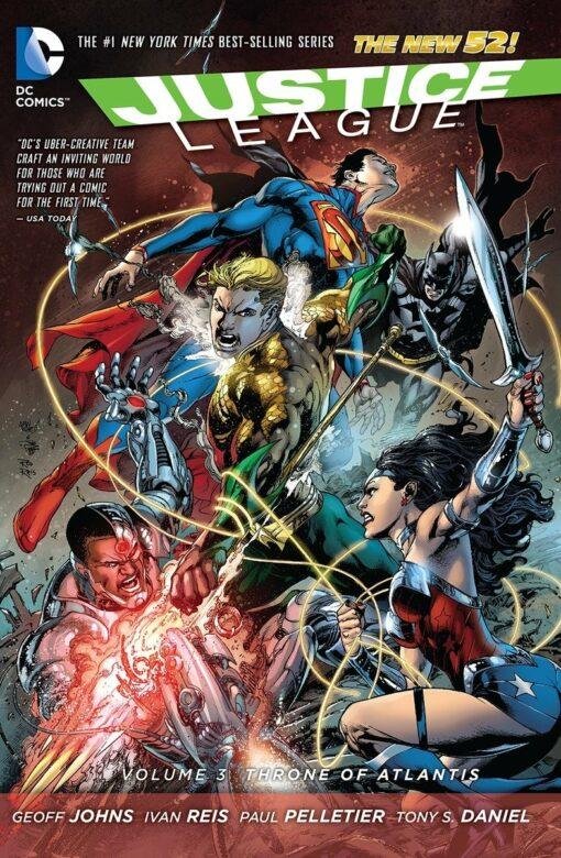 Justice League Vol. 3: Throne of Atlantis [HC] Conditie: Tweedehands, als nieuw DC 1