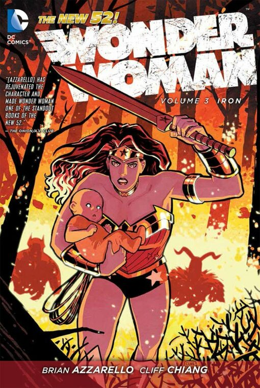 Wonder Woman Vol. 3: Iron [HC] Conditie: Tweedehands, als nieuw DC 1