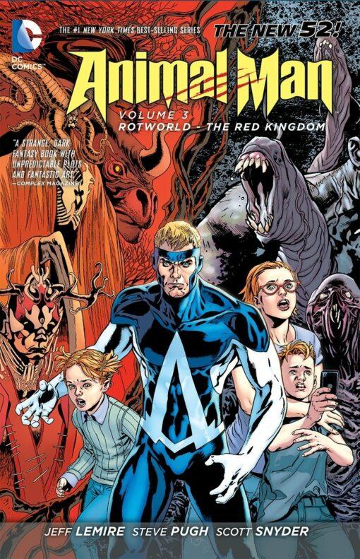 Animal Man Vol. 3: Rotworld: The Red Kingdom Conditie: Tweedehands, als nieuw DC 1
