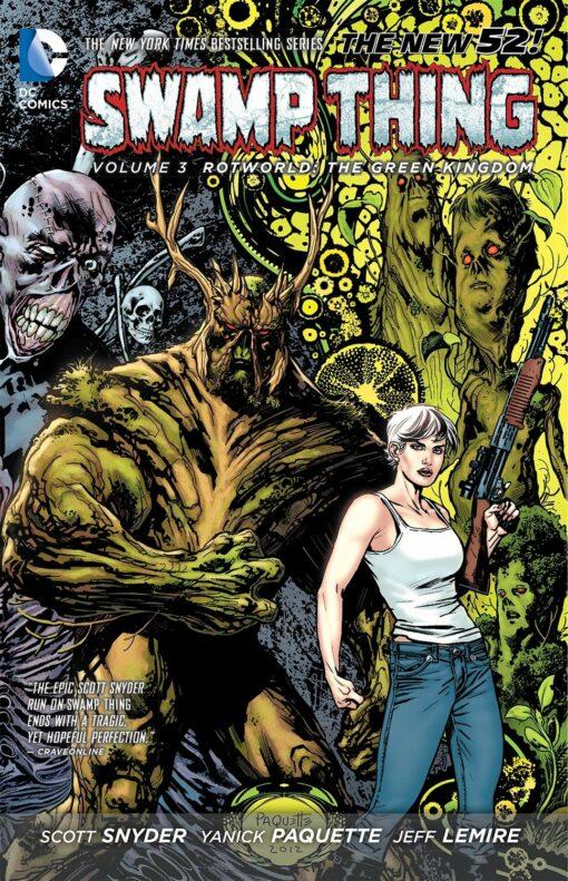 Swamp Thing Vol. 3: Rotworld: The Green Kingdom Conditie: Tweedehands, als nieuw DC 1
