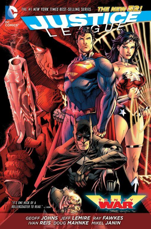 Justice League: Trinity War [HC] Conditie: Tweedehands, als nieuw DC 1