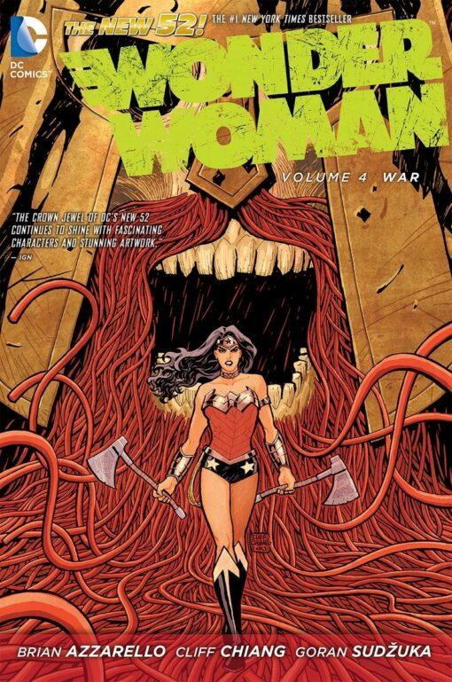 Wonder Woman Vol. 4: War [HC] Conditie: Tweedehands, als nieuw DC 1