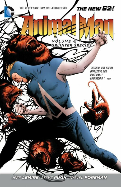 Animal Man Vol. 4: Splinter Species Conditie: Tweedehands, als nieuw DC 1