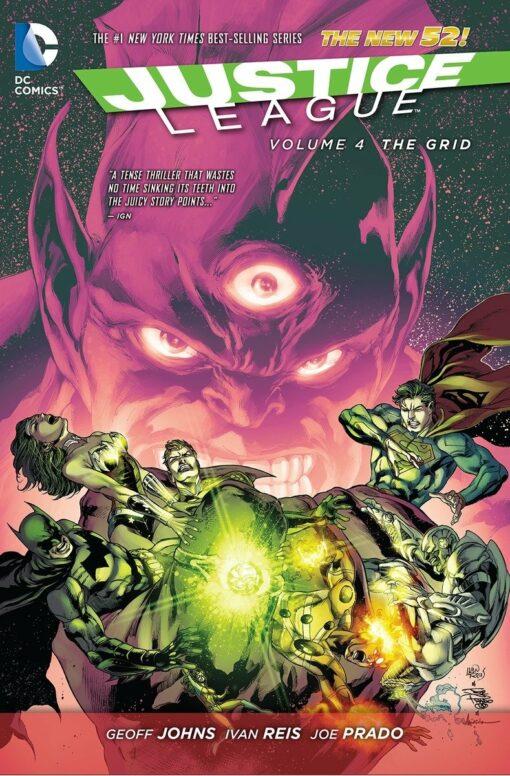 Justice League Vol. 4: The Grid [HC] Conditie: Tweedehands, als nieuw DC 1
