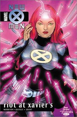 New X-Men Volume 4: Riot at Xavier's Conditie: Tweedehands, als nieuw Marvel 1