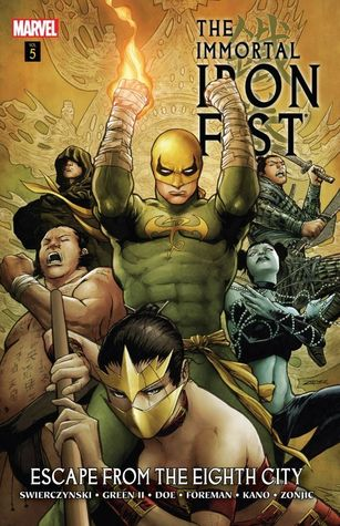 Immortal Iron Fist Volume 5: Escape from the Eighth City Conditie: Tweedehands, als nieuw Marvel 1