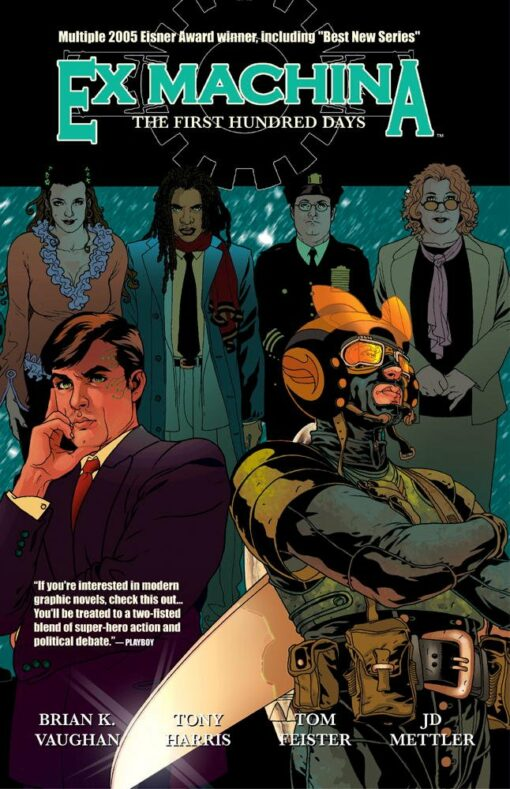 Ex Machina Vol. 1: The First Hundred Days Conditie: Tweedehands, als nieuw Wildstorm 1