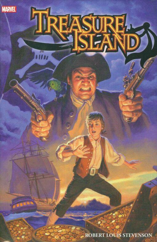 Treasure Island (Marvel Illustrated) [HC] Conditie: Tweedehands, als nieuw Marvel 1