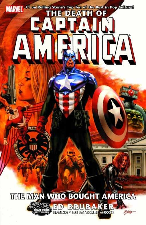 Captain America: The Death of Captain America Volume 3 - The Man Who Bought America Conditie: Tweedehands, als nieuw Marvel 1