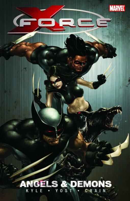 X-Force - Volume 1: Angels and Demons Conditie: Tweedehands, als nieuw Marvel 1