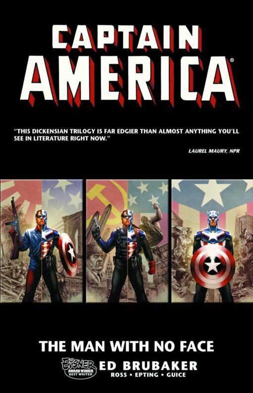 Captain America: The Man with No Face Conditie: Tweedehands, als nieuw Marvel 1