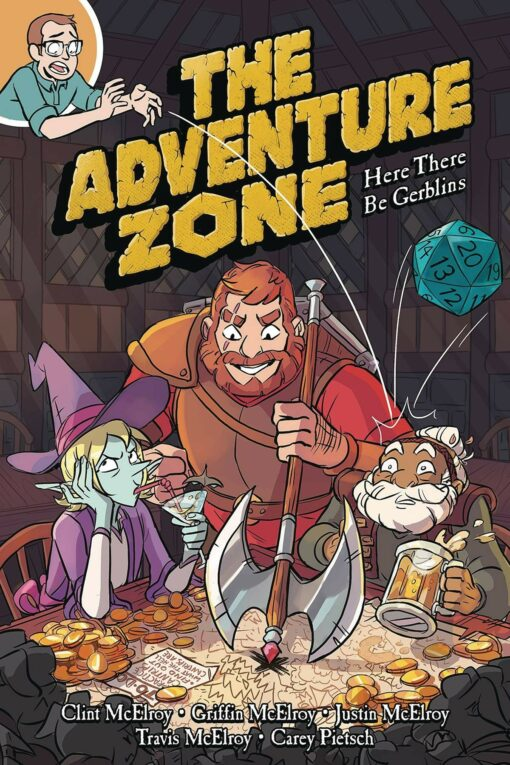 The Adventure Zone: Here There Be Gerblins Conditie: Nieuw First Second 1