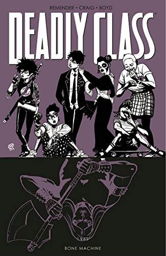 Deadly Class Volume 9: Bone Machine Conditie: Tweedehands, als nieuw Image 1