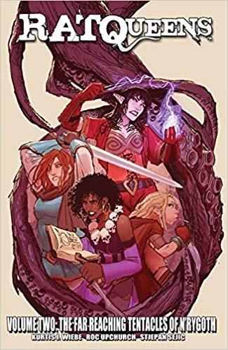 Rat Queens Volume 2: The Far Reaching Tentacles of N'Rygoth Conditie: Tweedehands, als nieuw Image 1