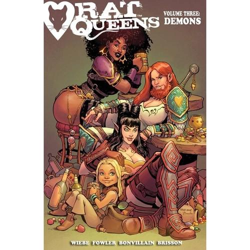 Rat Queens Volume 3: Demons Conditie: Tweedehands, als nieuw Image 1