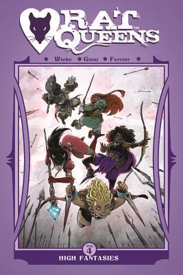 Rat Queens Volume 4: High Fantasies Conditie: Tweedehands, als nieuw Image 1