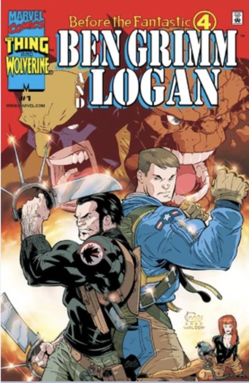 Before the Fantastic Four: Ben Grimm and Logan #1 Conditie: Tweedehands, goed Marvel 1