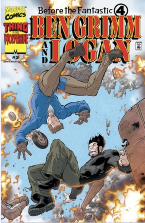 Before the Fantastic Four: Ben Grimm and Logan #3 Conditie: Tweedehands, goed Marvel 1