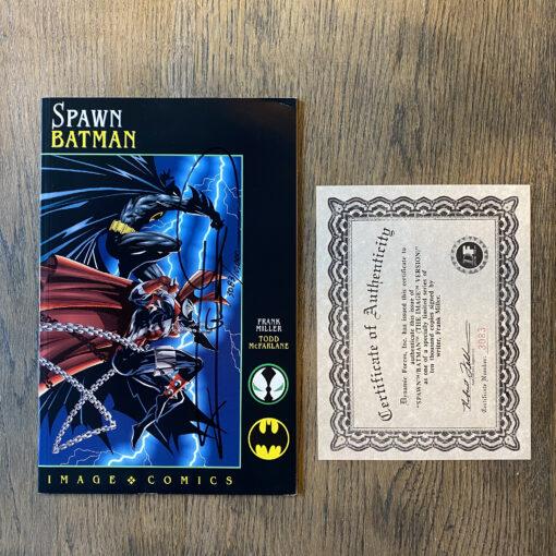 Spawn/Batman #1 - Authographed Limited Edition (3083/10000) with Certificate of Authenticity Conditie: Nieuw, inclusief handtekening en certificaat (zie afbeeldingen) Image 2