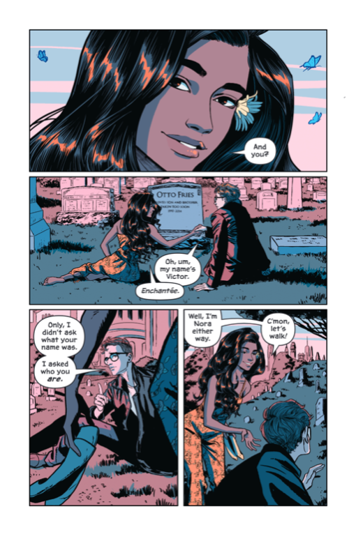 Victor and Nora: A Gotham Love Story Conditie: Nieuw DC 5