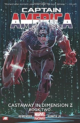 Captain America Volume 2: Castaway in Dimension Z Book 2 Conditie: Nieuw Marvel 1