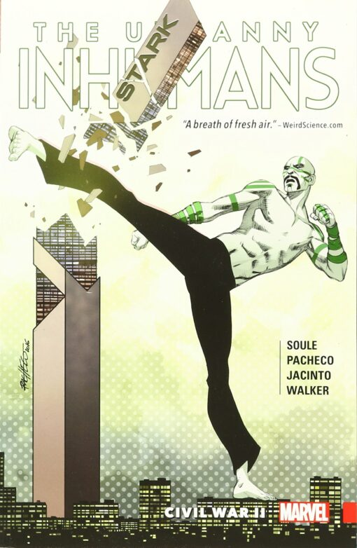 Uncanny Inhumans, The (2nd Series) Volume 3: Civil War II Conditie: Nieuw Marvel 1