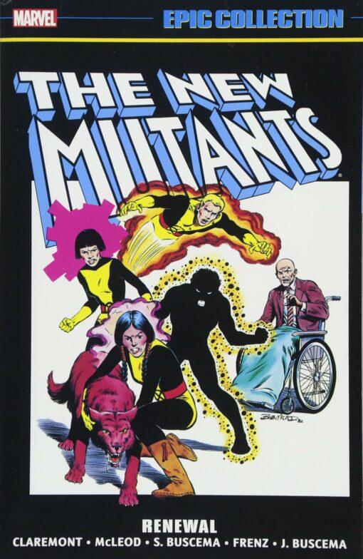 New Mutants Epic Collection: Renewal Conditie: Nieuw Marvel 1