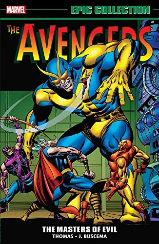Avengers Epic Collection: Masters of Evil Conditie: Nieuw Marvel 1