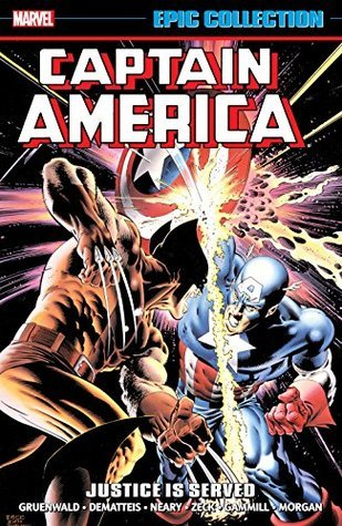 Captain America Epic Collection: Justice is Served Conditie: Nieuw Marvel 1