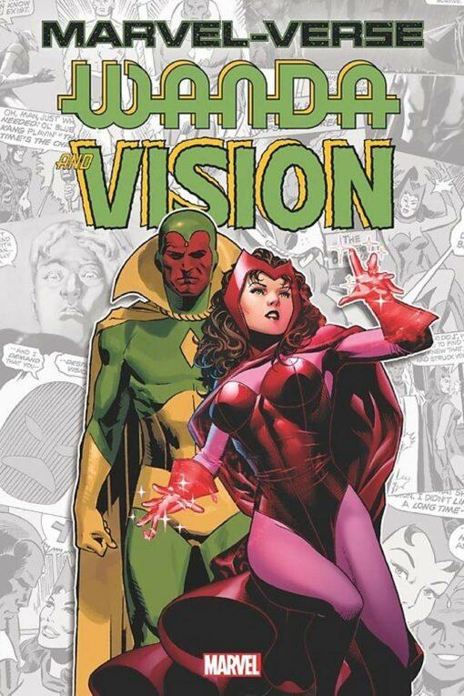 Marvel-Verse: Wanda & Vision Conditie: Nieuw Marvel 1