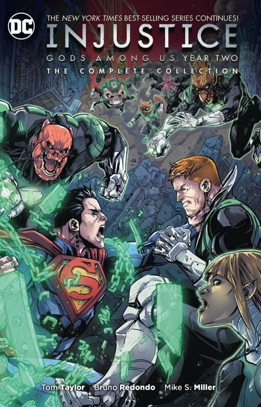 Injustice: Gods Among Us: Year Two - The Complete Collection Conditie: Tweedehands, als nieuw DC 1
