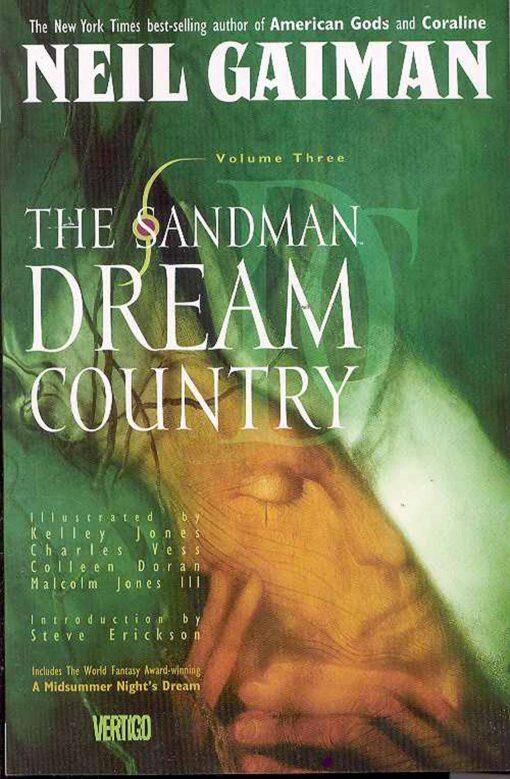 Sandman Volume 3: Dream Country Conditie: Tweedehands, als nieuw Vertigo 1