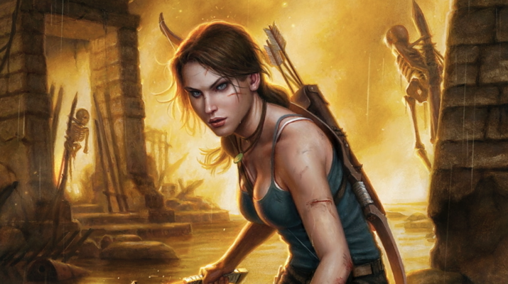 Tomb Raider Comic Book Video Game