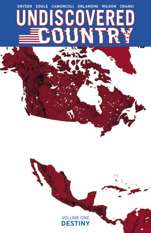 Undiscovered Country Volume 1: Destiny Conditie: Tweedehands, als nieuw Image 1