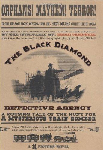 Black Diamond Detective Agency Conditie: Tweedehands, als nieuw First Second 1