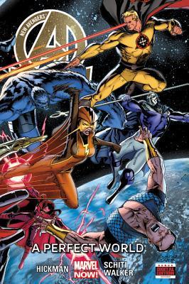 New Avengers (3rd Series) Volume 4: Perfect World [HC] Conditie: Tweedehands, als nieuw Marvel 1