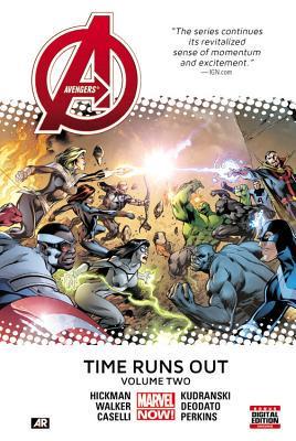Avengers: Time Runs Out Volume 2 [HC] Conditie: Tweedehands, als nieuw Marvel 1