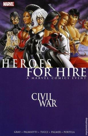 Heroes For Hire (Vol. 2) Volume 1: Civil War Conditie: Tweedehands, als nieuw Marvel 1