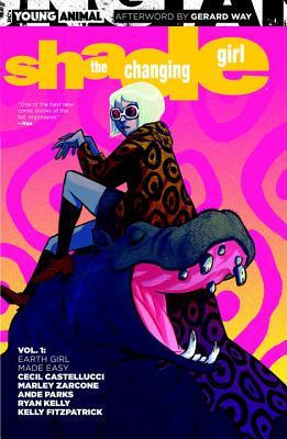 Shade The Changing Girl Volume 1: Earth Girl Made Easy Conditie: Tweedehands, als nieuw DC 1