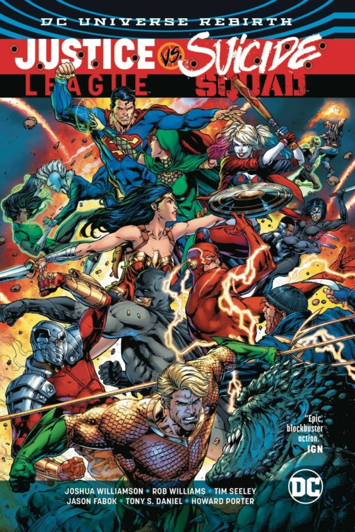Justice League Vs. Suicide Squad Volume 1 Conditie: Tweedehands, als nieuw DC 1