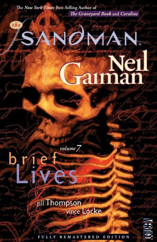 The Sandman Volume 7: Brief Lives Conditie: Tweedehands, als nieuw Vertigo 1